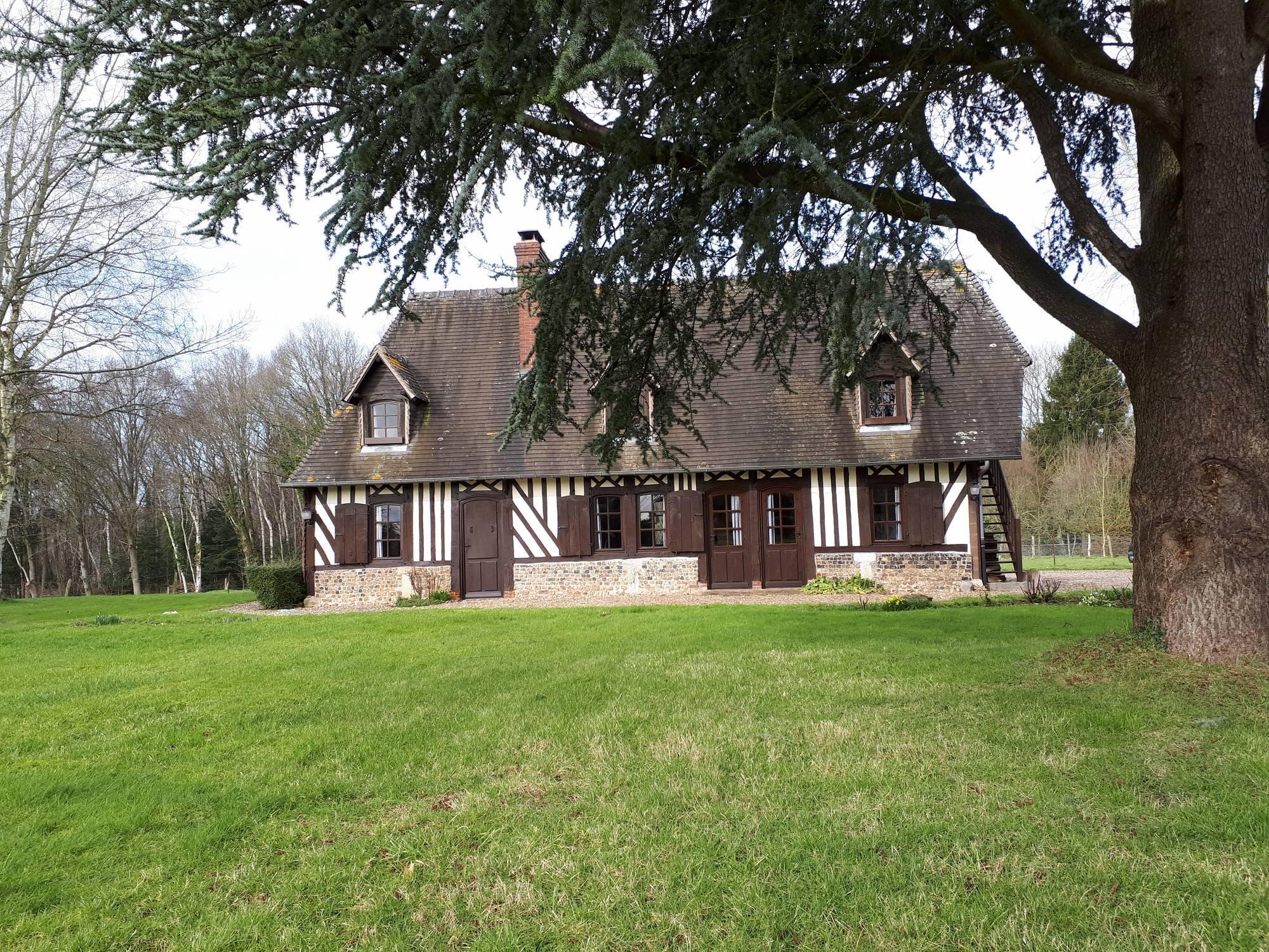Vends maison normande proche de Cormeilles 27260
