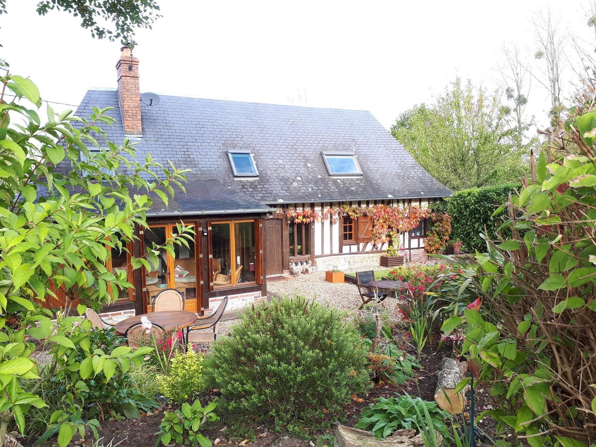A vendre maison normande authentique région Cormeilles 27260