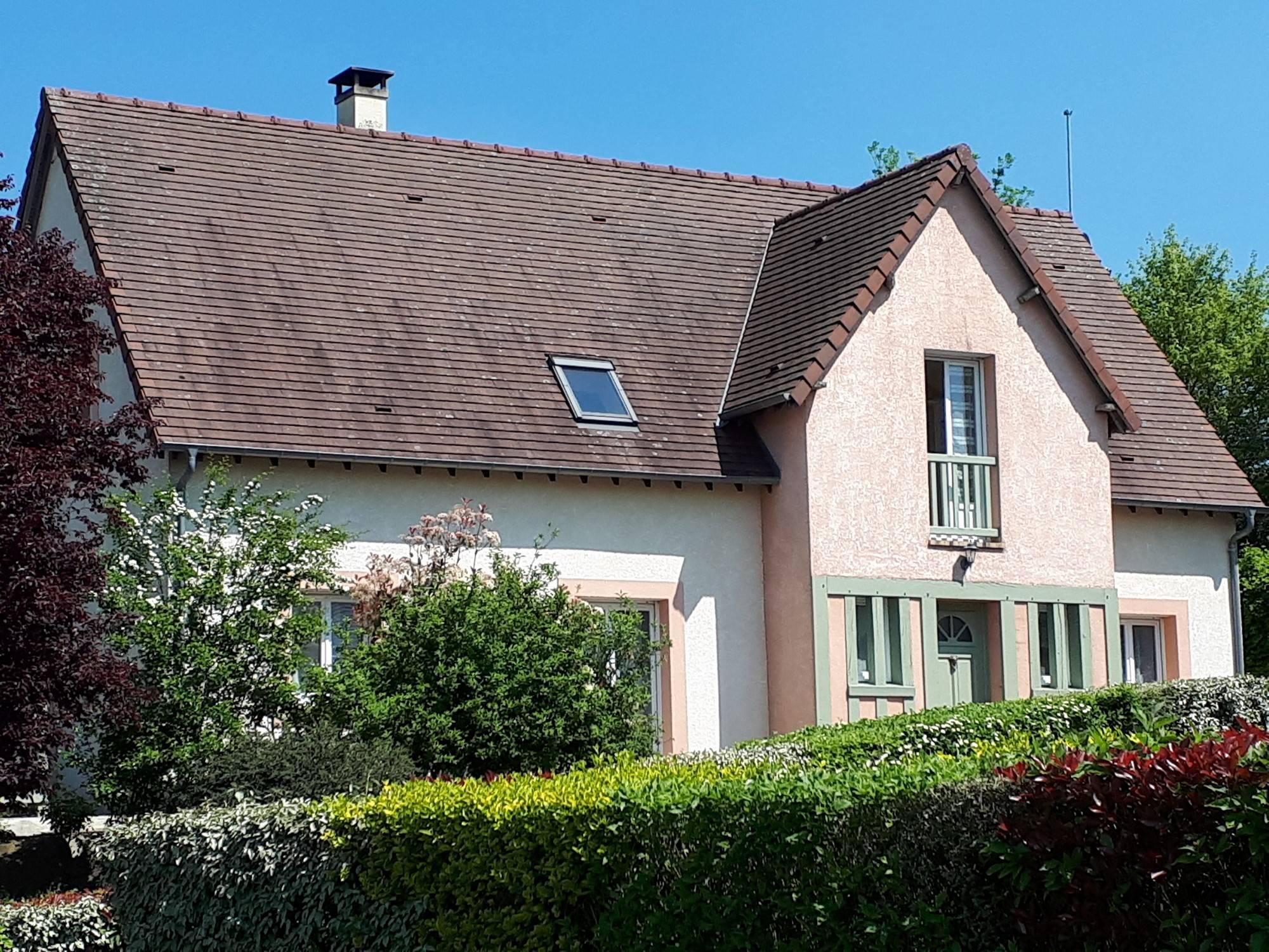 Maison contemporaine r gion cormeilles eure 27260 terres for Maison moderne normandie