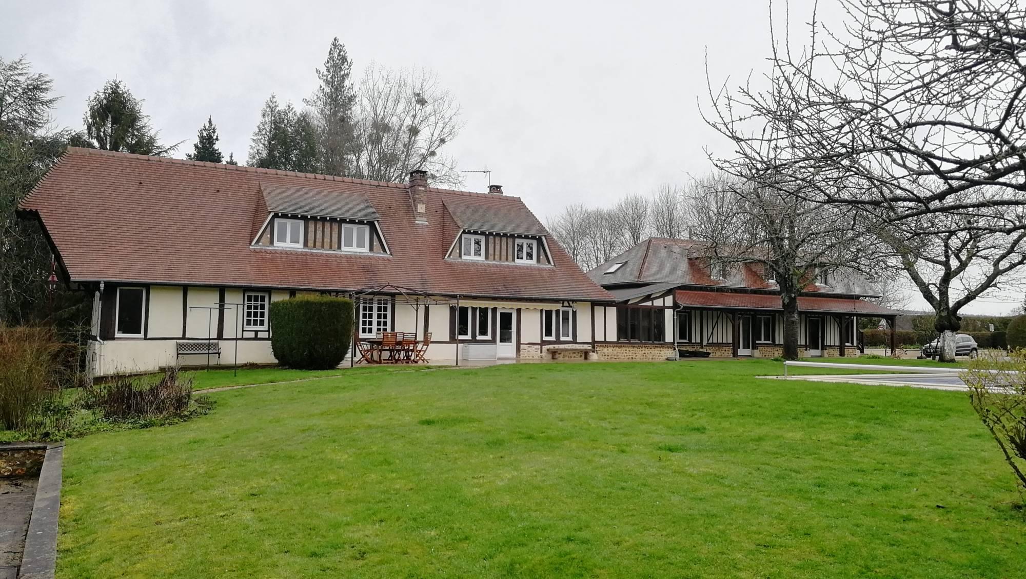 a vendre, grande maison Normande, maison familiale, proche PONT-AUDEMER 27500