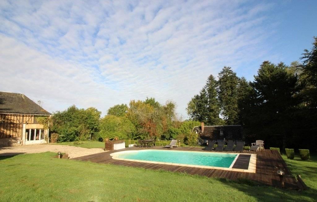 A vendre propriété normande dans un environnement privilégié en Normandie