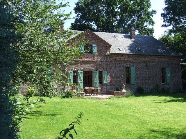 Maison de campagne normandie cliquez proprit anglo normande sur type maison normandie - Plant de rhubarbe a vendre ...