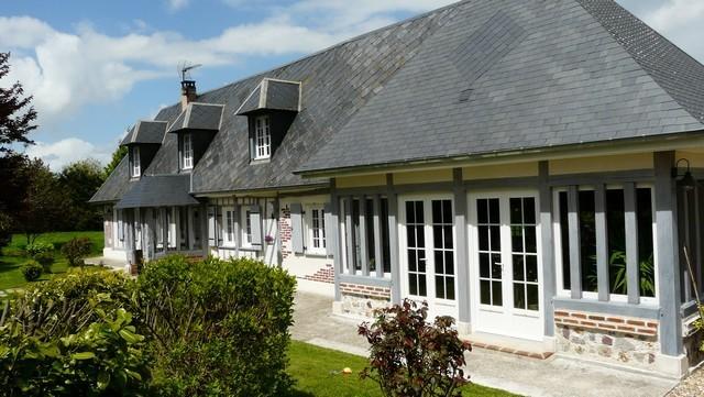 Ancien et de caract re jolie maison normande a vendre normandie region - Plan maison normande ...