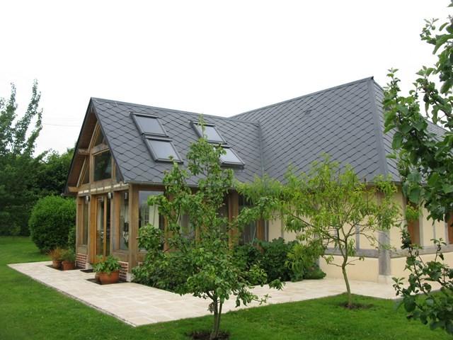 maison normande a vendre normandie vallee de la risle a environ 12 mn de pont audemer. Black Bedroom Furniture Sets. Home Design Ideas