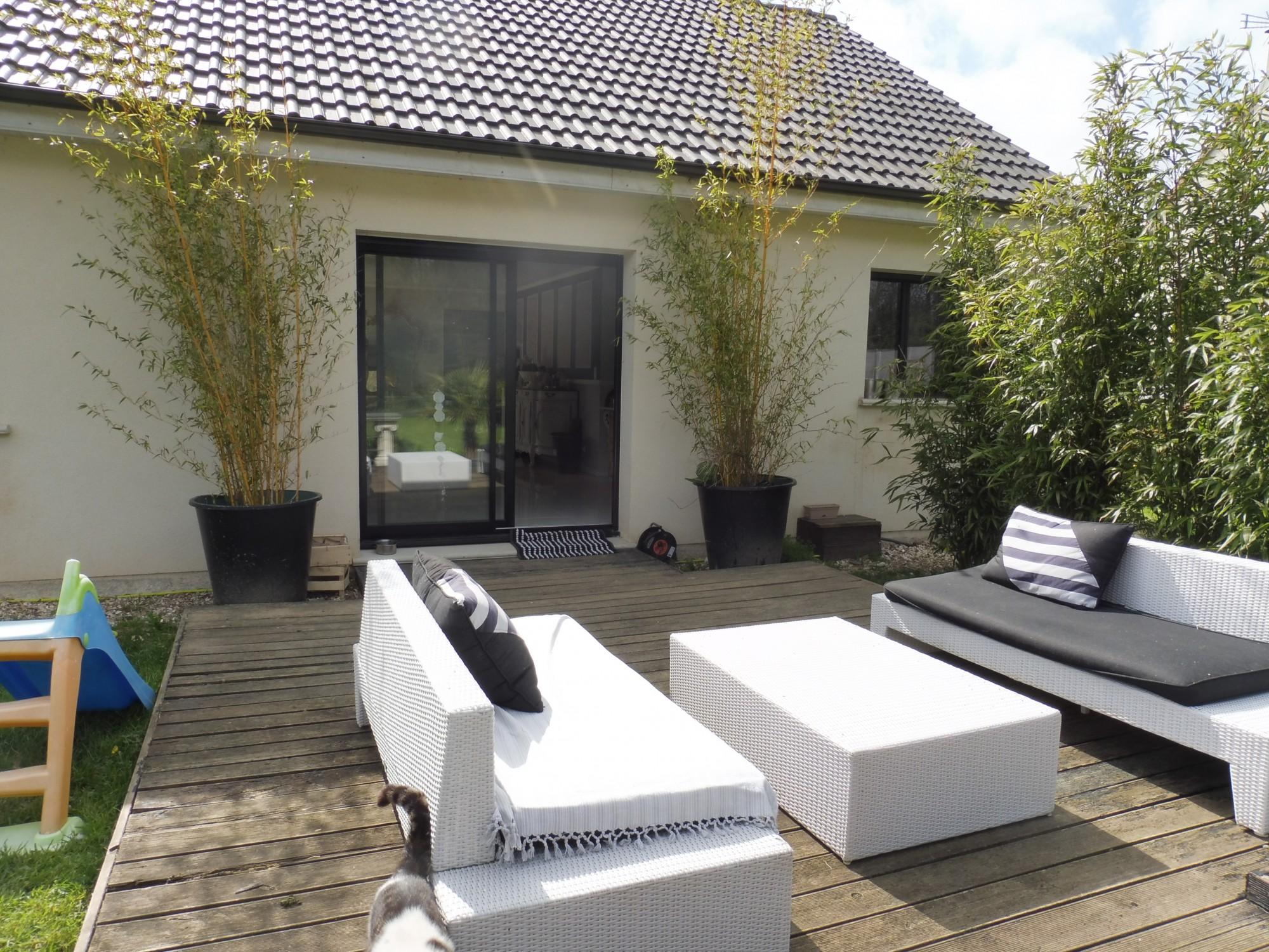 a vendre maison r cente plain pied 5 minutes de yerville 76760 en normandie terres et. Black Bedroom Furniture Sets. Home Design Ideas