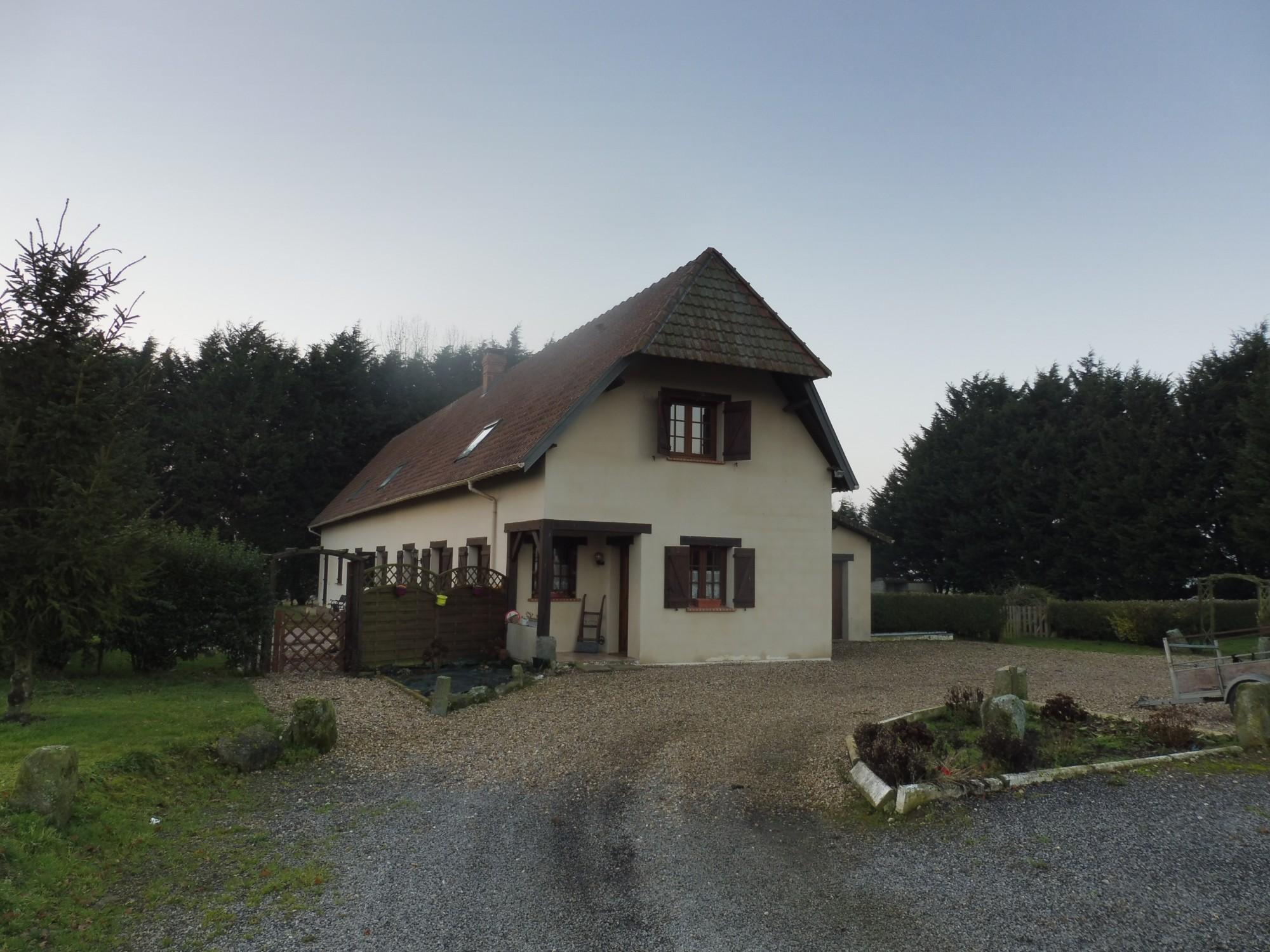 a vendre maison contemporaine 76640 fauville en caux seine maritime normandie pays de caux