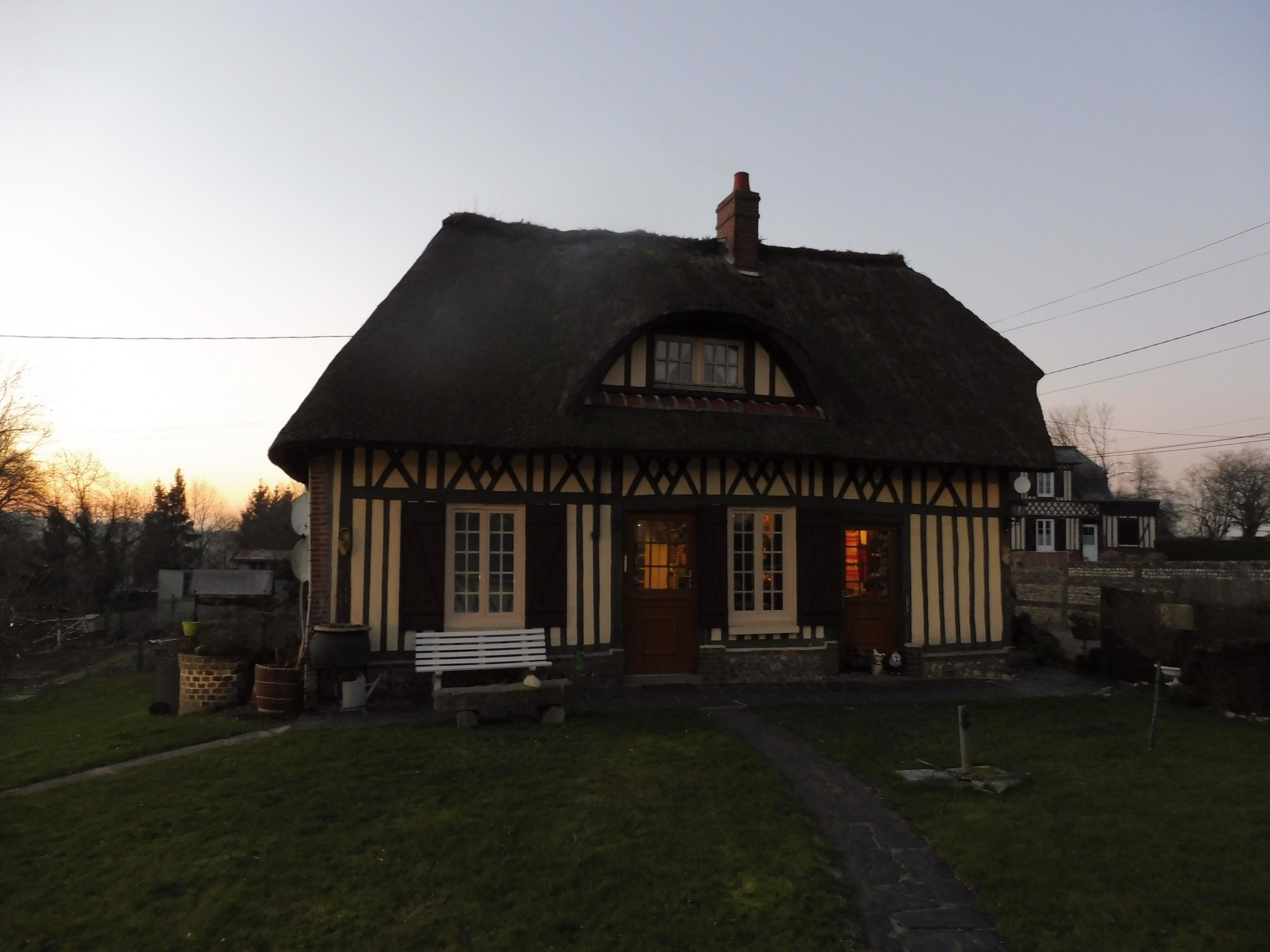 Chaumiere normande situ e 10 minutes d 39 yvetot 76190 en for Agence immobiliere yvetot