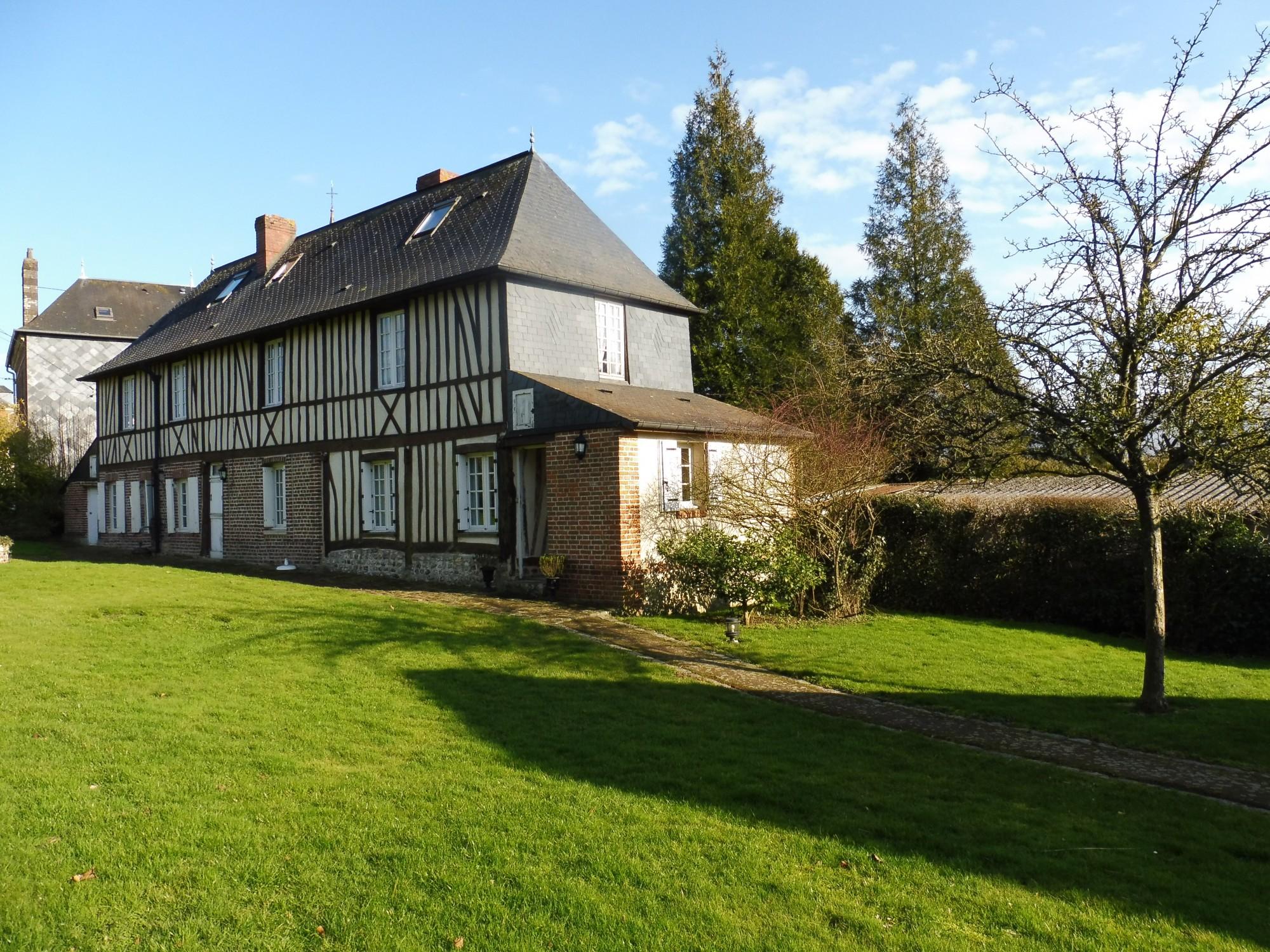 vente maison bourgeoise 76570 limesy terres et demeures de normandie. Black Bedroom Furniture Sets. Home Design Ideas