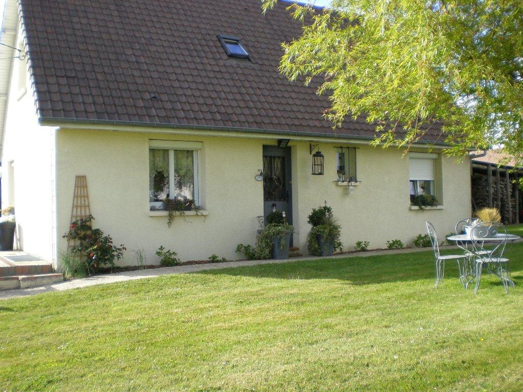 Maison contemporaine situ e sur la commune de saint for Maison moderne normandie