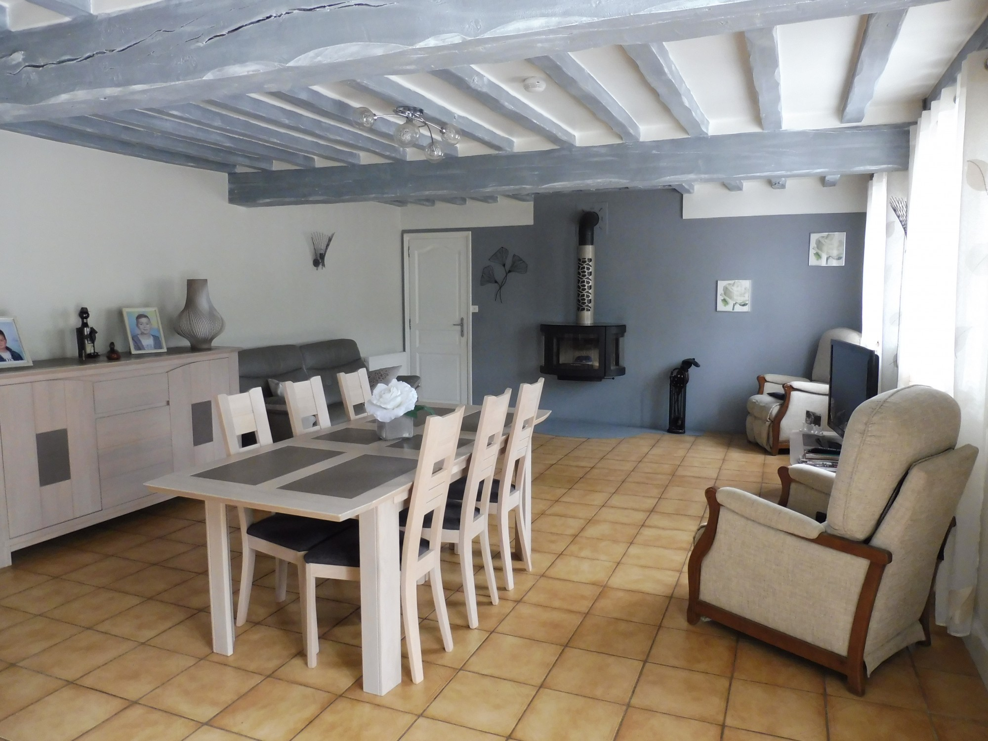 A vendre maison de ville 76190 yvetot terres et demeures for Agence immobiliere yvetot