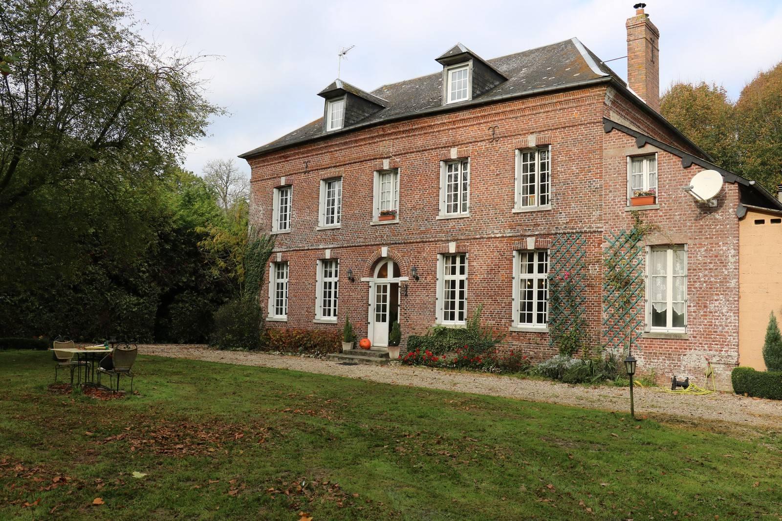 Maison de Maître, proche Val-de-Saâne 76