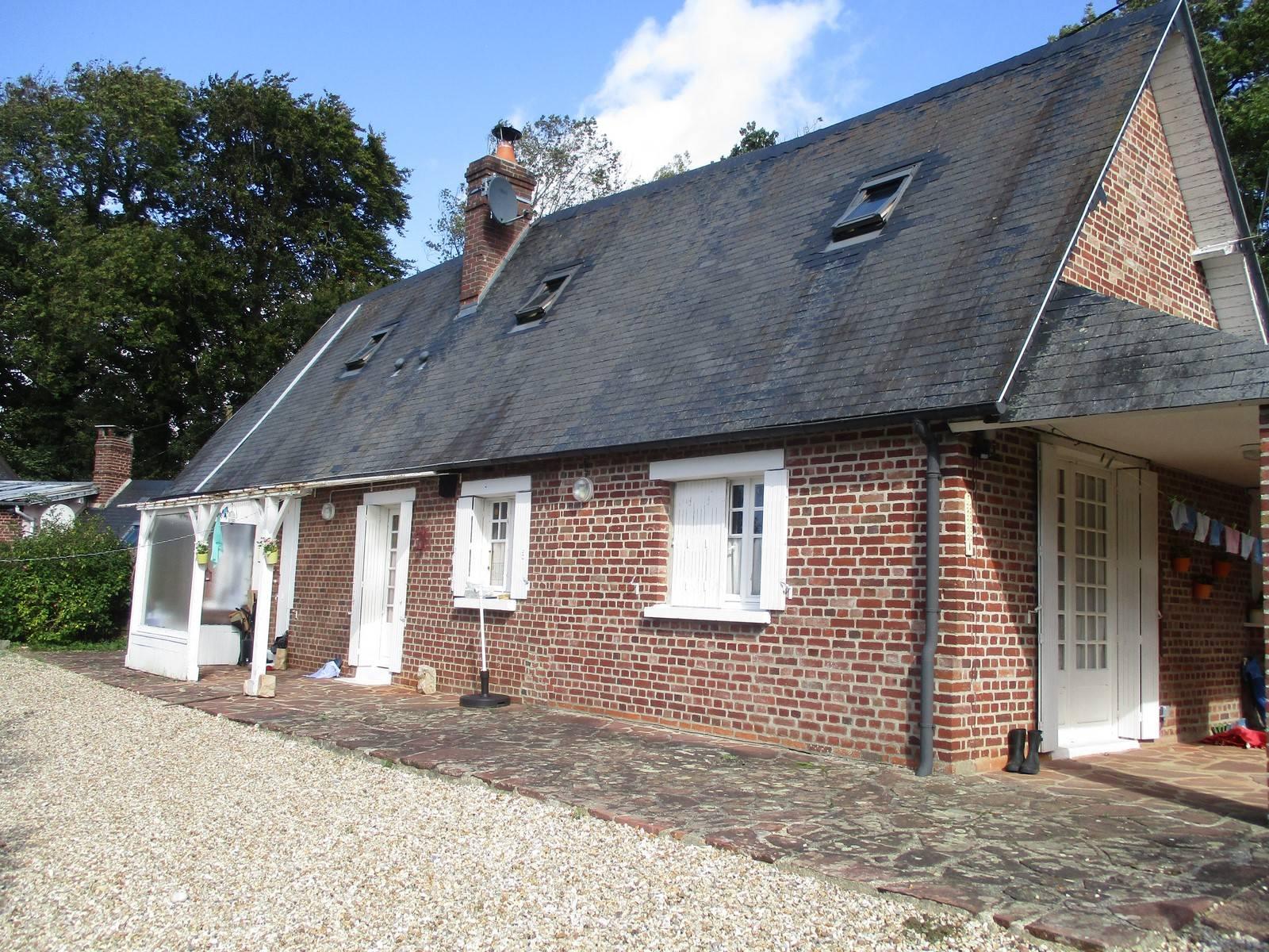 maison moderne f4 avec terrasse à vendre criel sur mer terres et