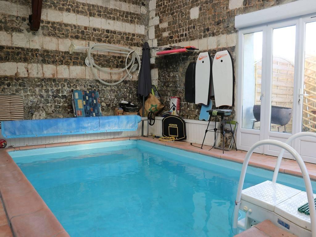 Longère normande avec piscine 76