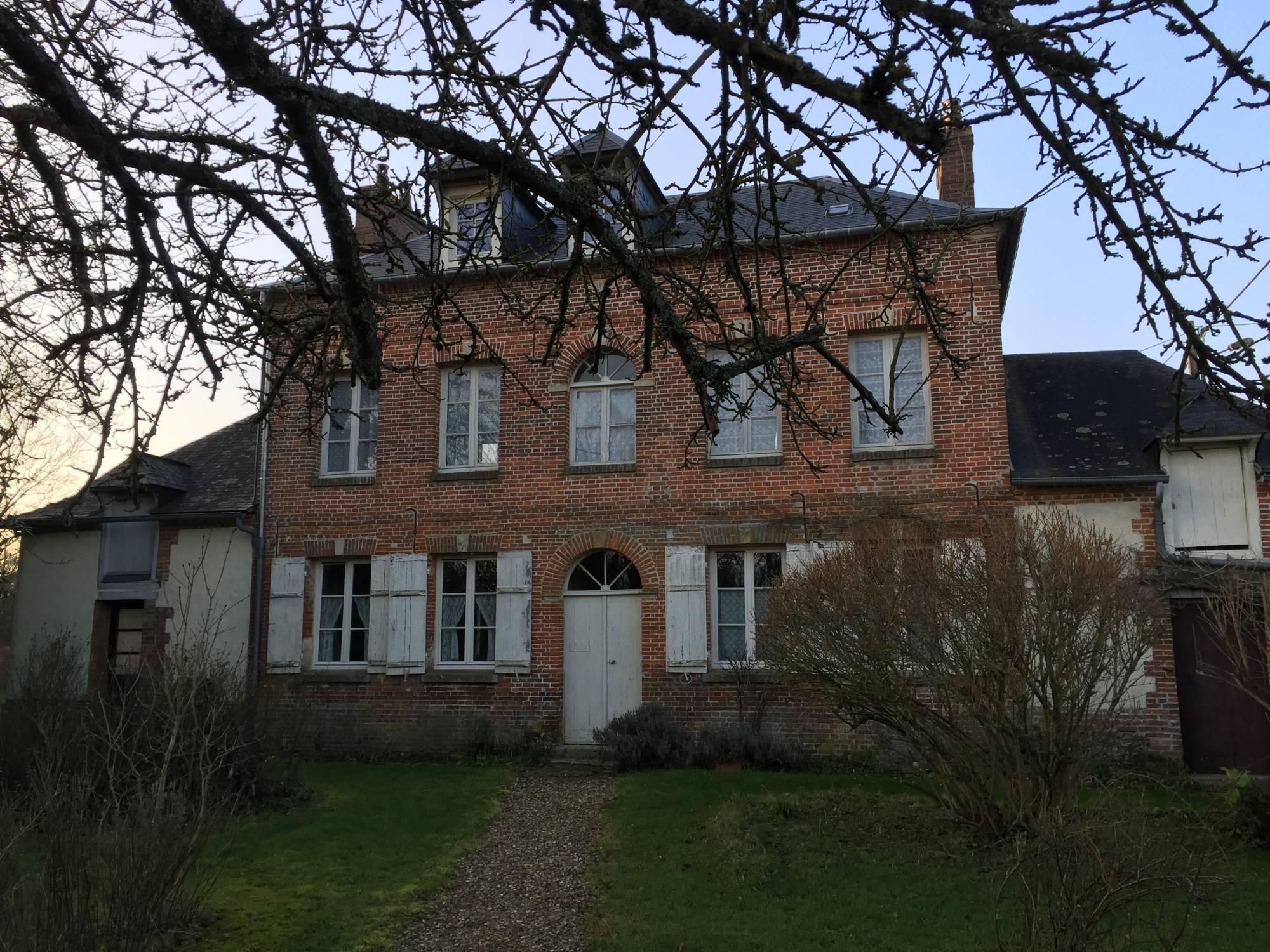 Maison de Maître à vendre près de Lyons-la-Forêt, agence Terres et Demeures de Normandie