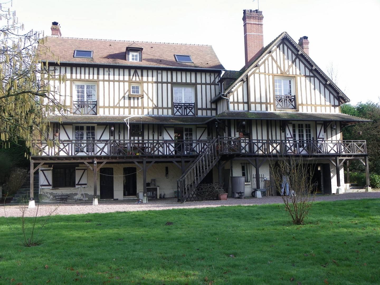 A vendre maison à colombages à 25 minutes de Deauville, Calvados 14800