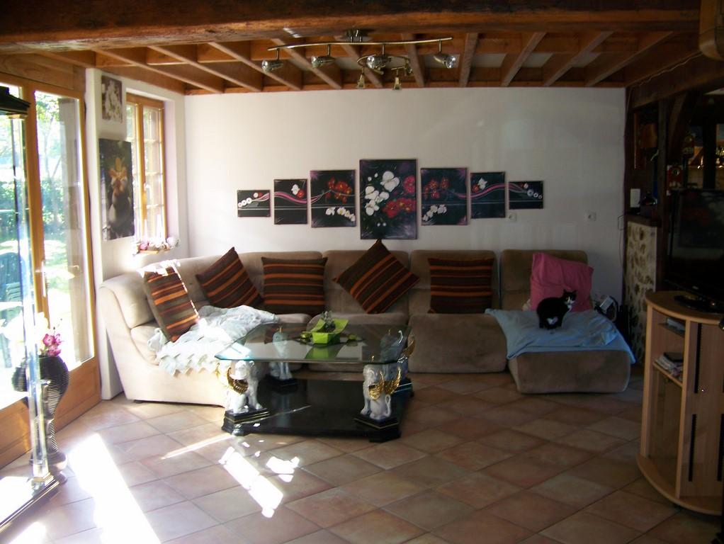 chaumiere colombages r gion honfleur calvados 14 terres et demeures de normandie. Black Bedroom Furniture Sets. Home Design Ideas