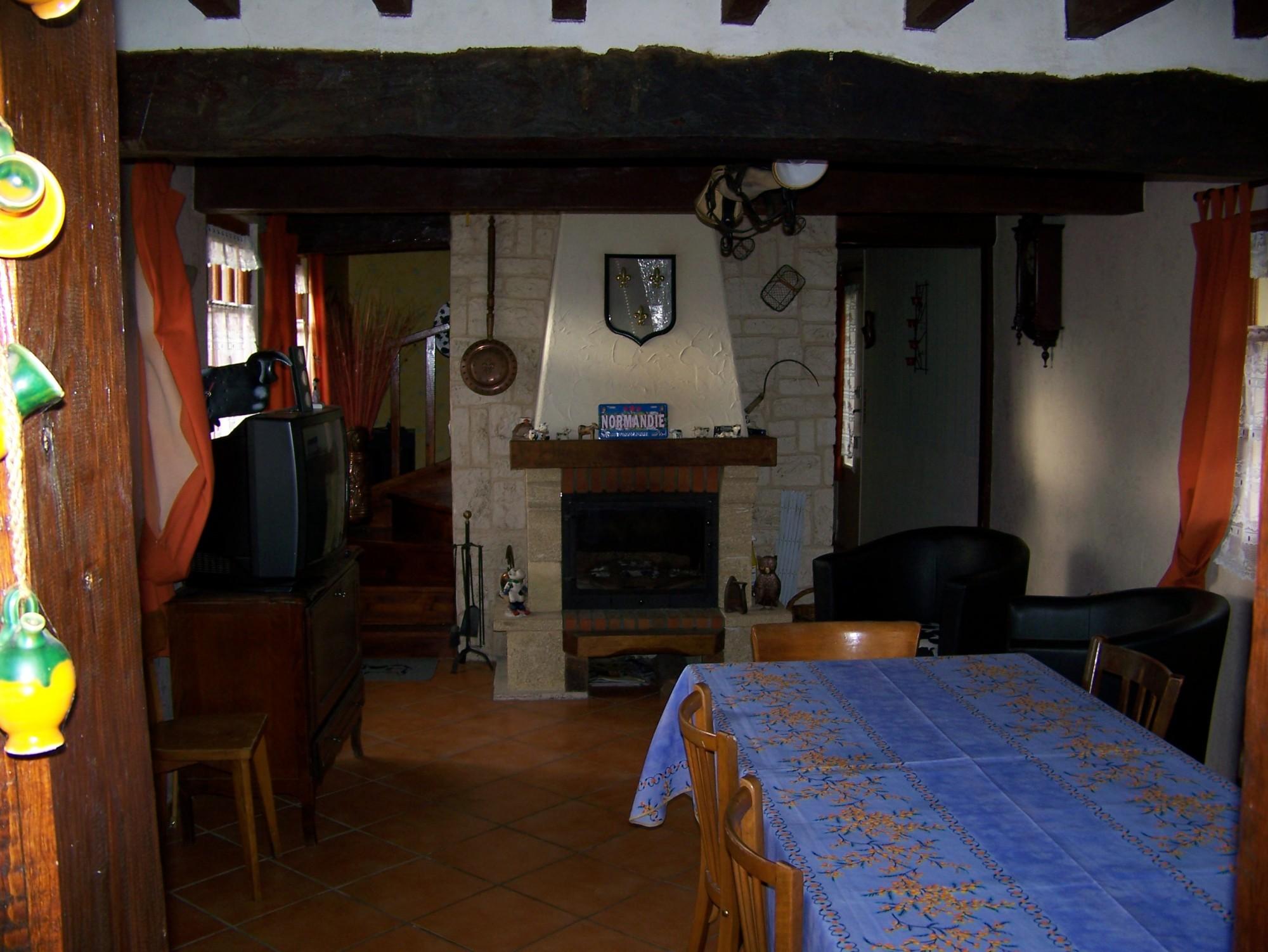 maison normande r gion honfleur calvados 14 terres et demeures de normandie. Black Bedroom Furniture Sets. Home Design Ideas