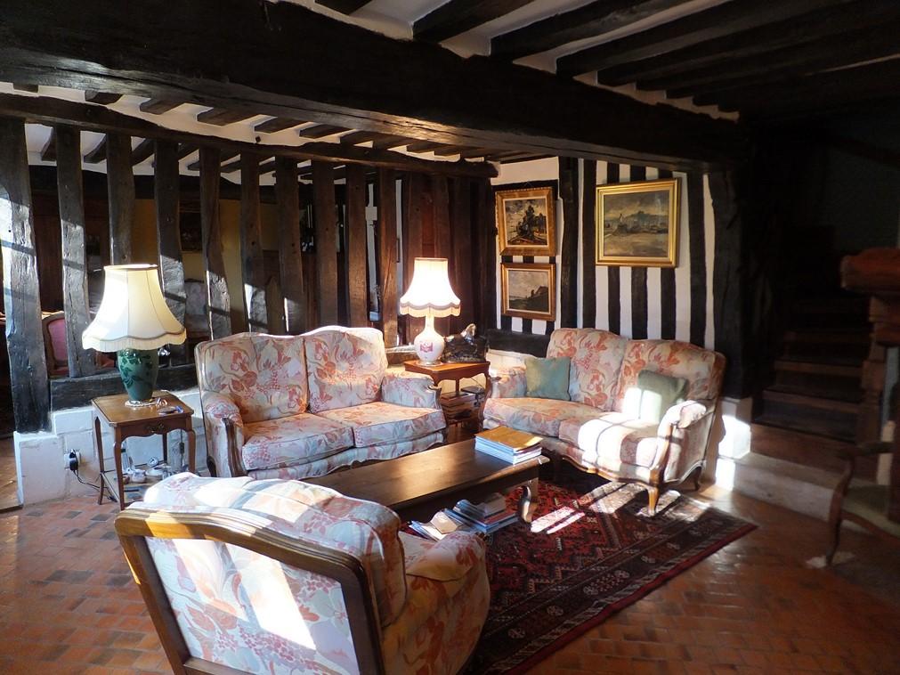 manoir r gion honfleur calvados 14 terres et demeures de normandie. Black Bedroom Furniture Sets. Home Design Ideas