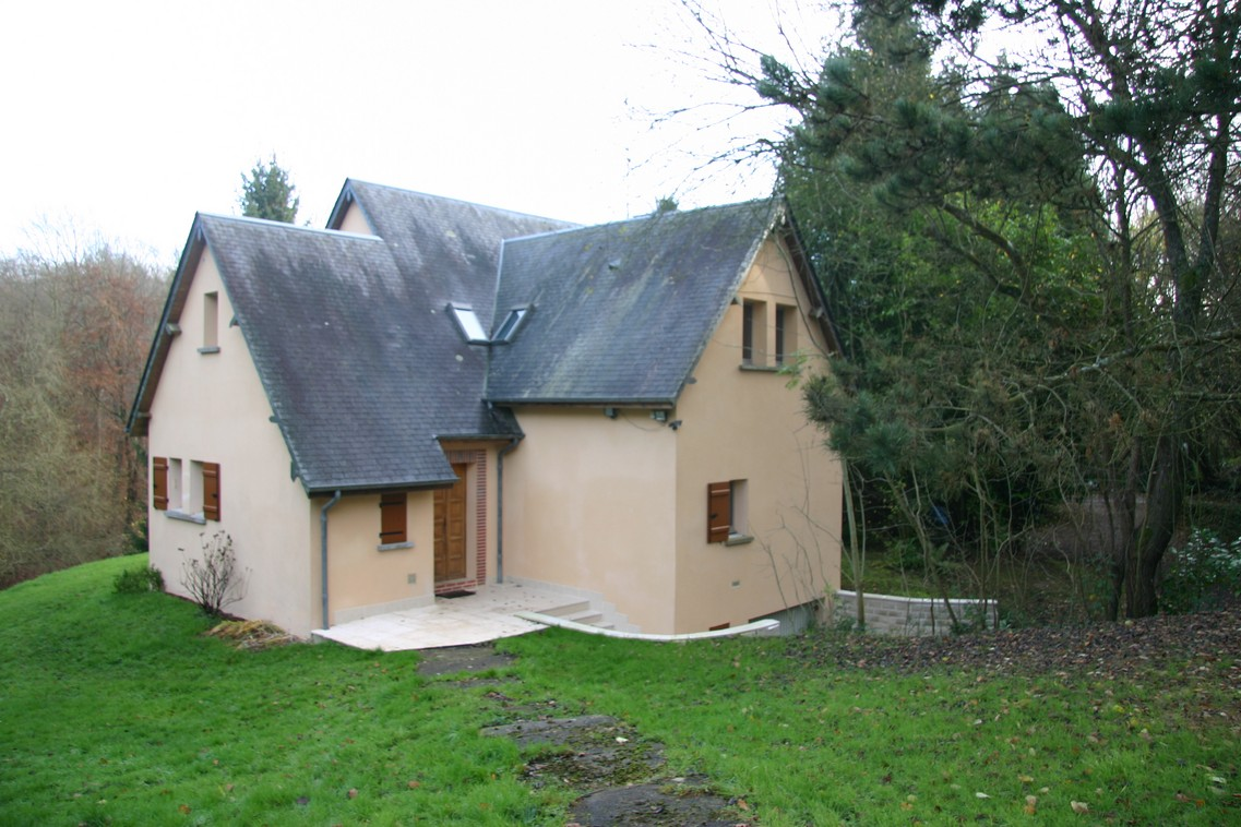 Maison architecte honfleur maison moderne for Architecte maison moderne