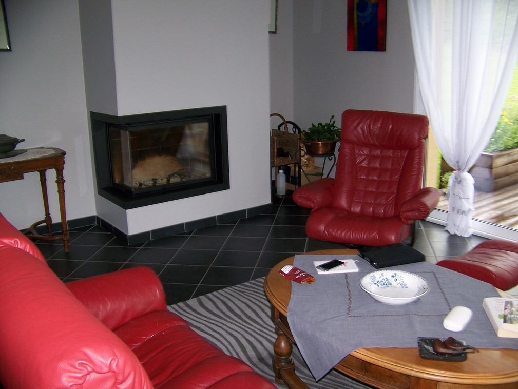 Propose, maison traditionnelle sur terrain arboré, proche Deauville