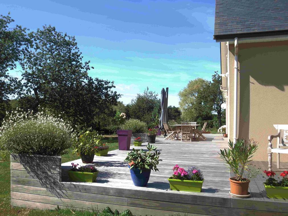 Acheter, maison récente, à pied des plages, Normandie