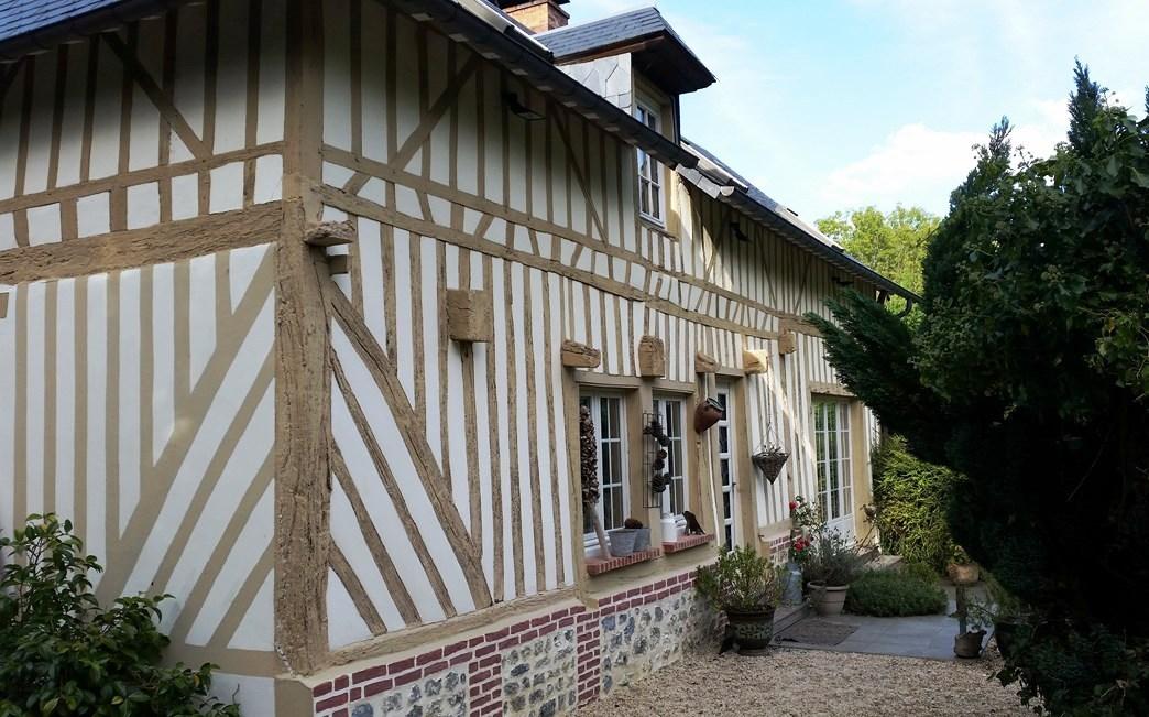 Vends maison normande beaux volumes proche de Blangy le chateau calvados