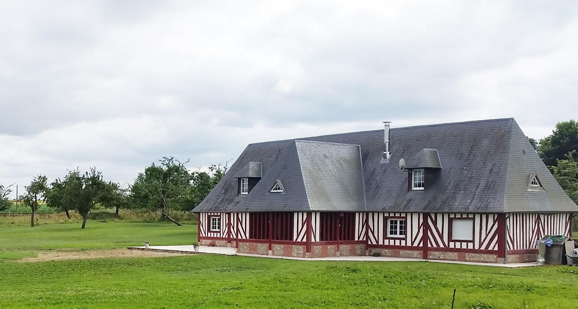 Achetez, une Maison de Caractère à 15 minutes de Cormeilles, Eure