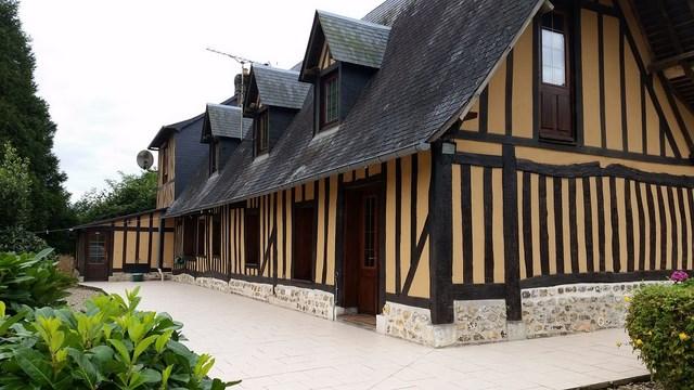 En vente maison normande dans le secteur de Pont Audemer 27500