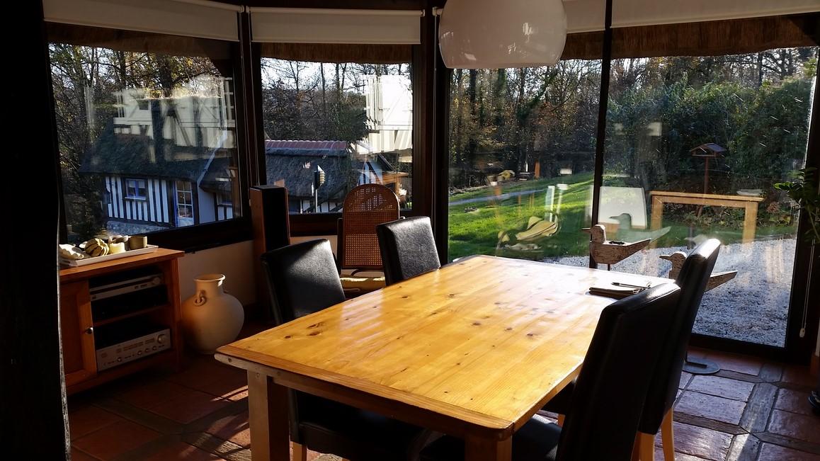 Recherche maison d'habitation avec véranda lumineuse proche Calvados 14