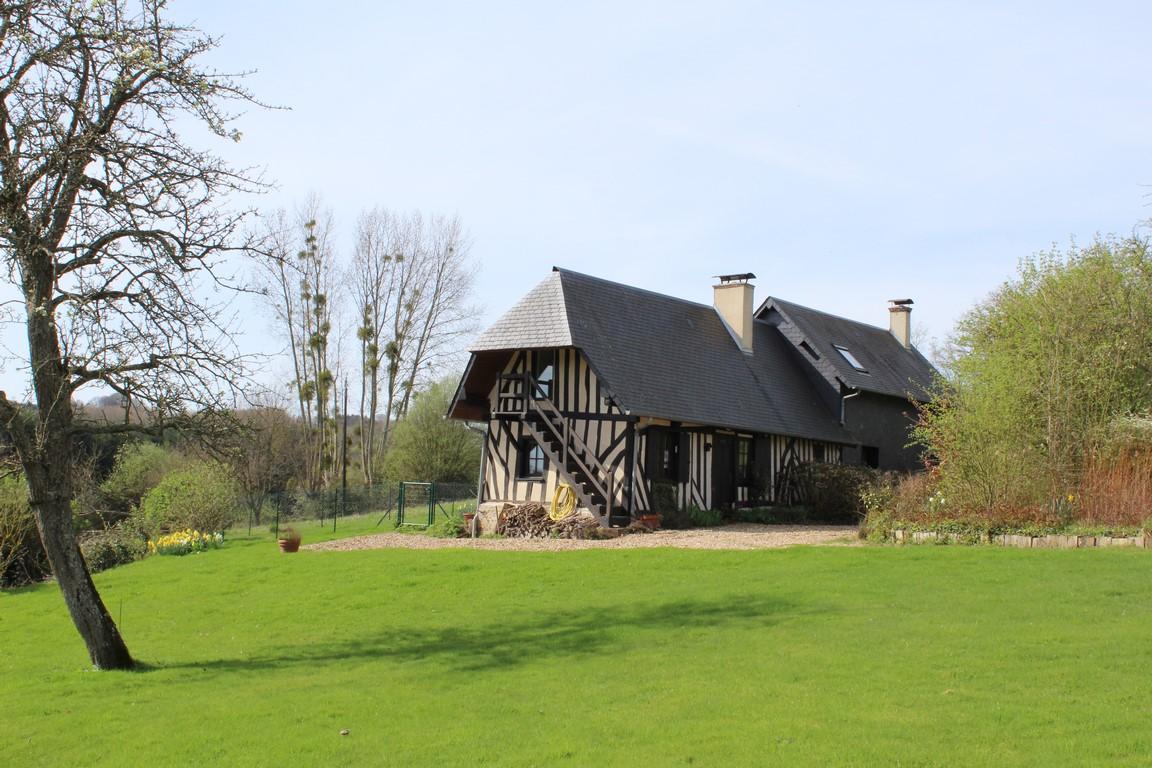 ventes maison normande entre cormeilles et pont l 39 eveque calvados 14 terres et demeures de
