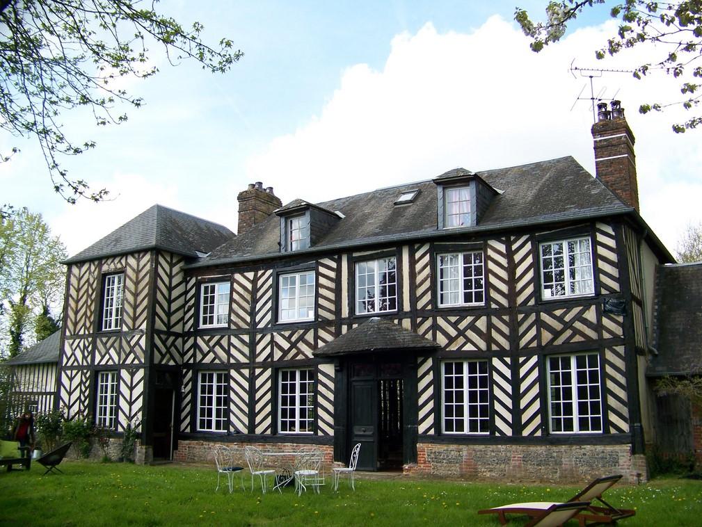 ventes manoir normand r gion cormeilles eure 27 terres et demeures de normandie. Black Bedroom Furniture Sets. Home Design Ideas