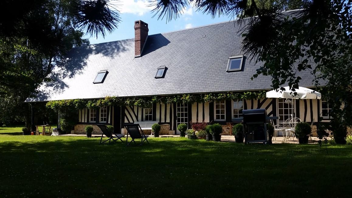 En vente, maison normande proche de pont audemer 27500