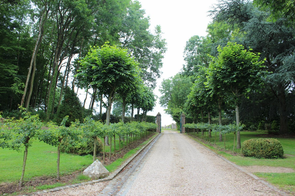 Achetez un chateau avec ses dépendances entouré de 36 Hectares de bois et 7 Hectare de parc