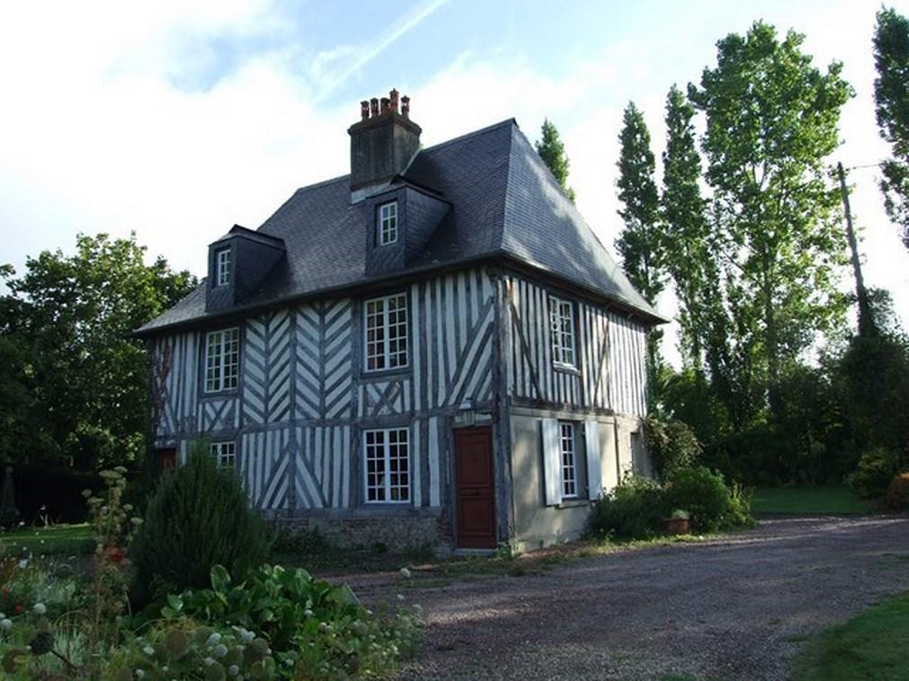 Acheter maison normande authentique proche des plages Honfleur 14600 Trouville sur mer 14360
