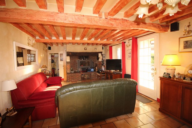 Acquisition propriété au calme et sans vis-à-vis région Le Brevedent 14130