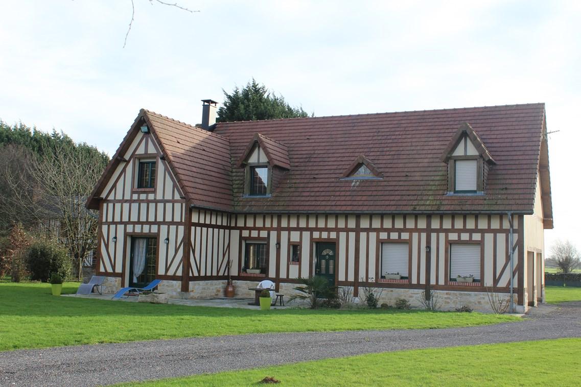 Ventes maison contemporaine a 10 minutes de cormeilles for Vente maison moderne