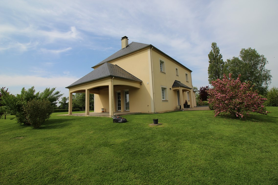 Ventes maison contemporaine r gion cambremer et lisieuxv for Maison moderne normandie