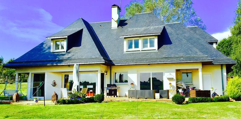 ventes maison d 39 architecte terres et demeures de normandie. Black Bedroom Furniture Sets. Home Design Ideas