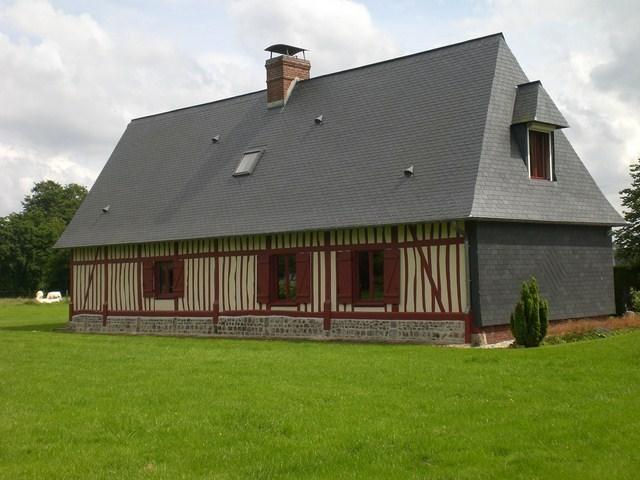 Terres et Demeures de Normandie Dieppe vous invite à découvrir cette maison Normande proche de la mer de Saint Valéry en Caux (76)