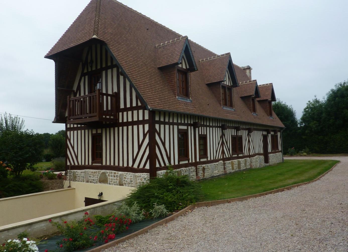 Lisieux ventes maison normande r gion orbec pays d 39 auge for Restauration maison normande