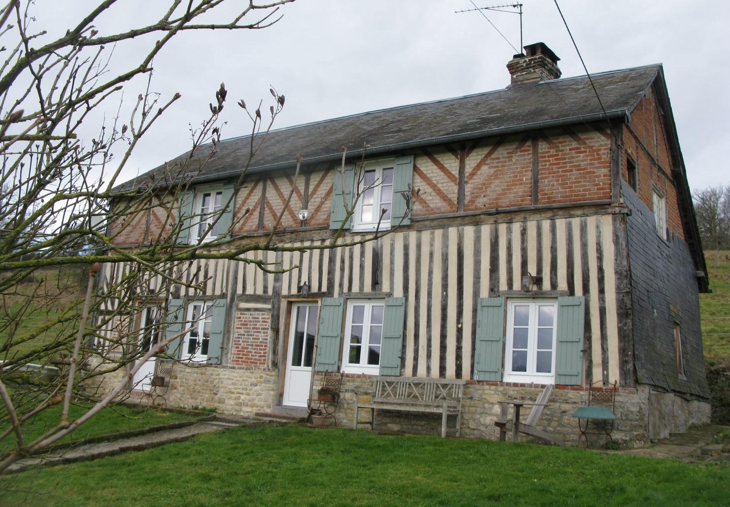 Lisieux ventes maison normande proche cambremer pays d for Site vente immobilier