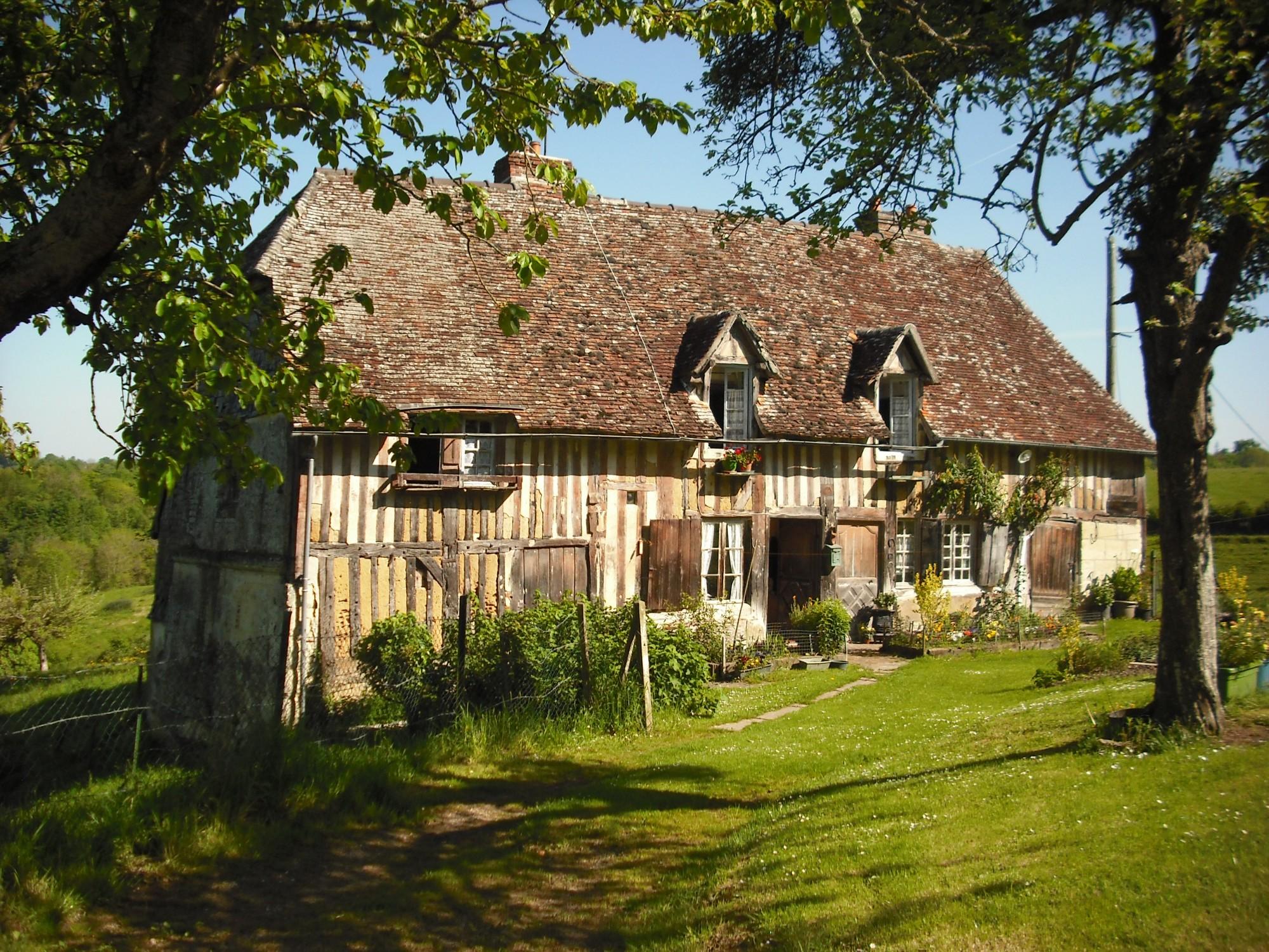 maison normande lisieux normandie calvados 14 terres et demeures de normandie. Black Bedroom Furniture Sets. Home Design Ideas