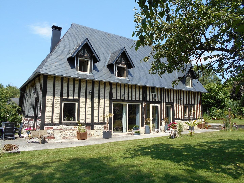 Lisieux ventes maison normande proche pont l 39 eveque for Vente immobiliere maison