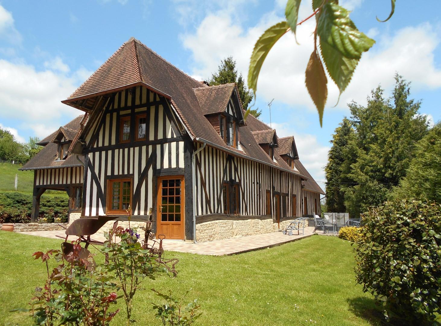maison normandie perfect location maison normandie location de vacances maison villa a. Black Bedroom Furniture Sets. Home Design Ideas