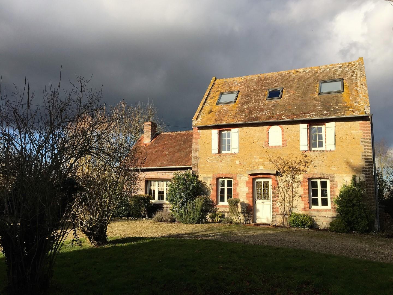 Lisieux ventes maison en pierre r gion beuvron en auge calvados 14 terres e - Maison de charme perche ...