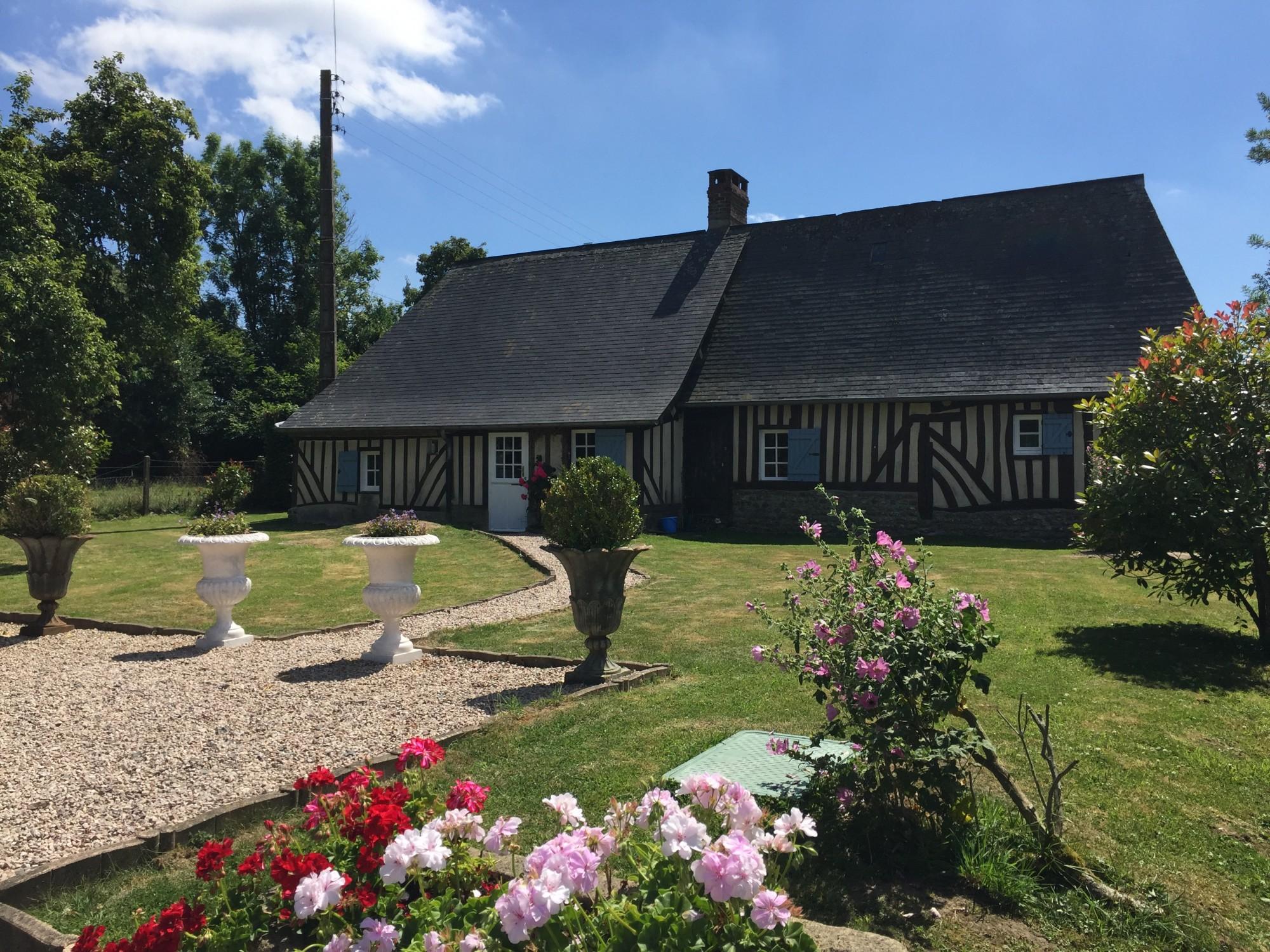 Maison de charme en vente près de Deauville