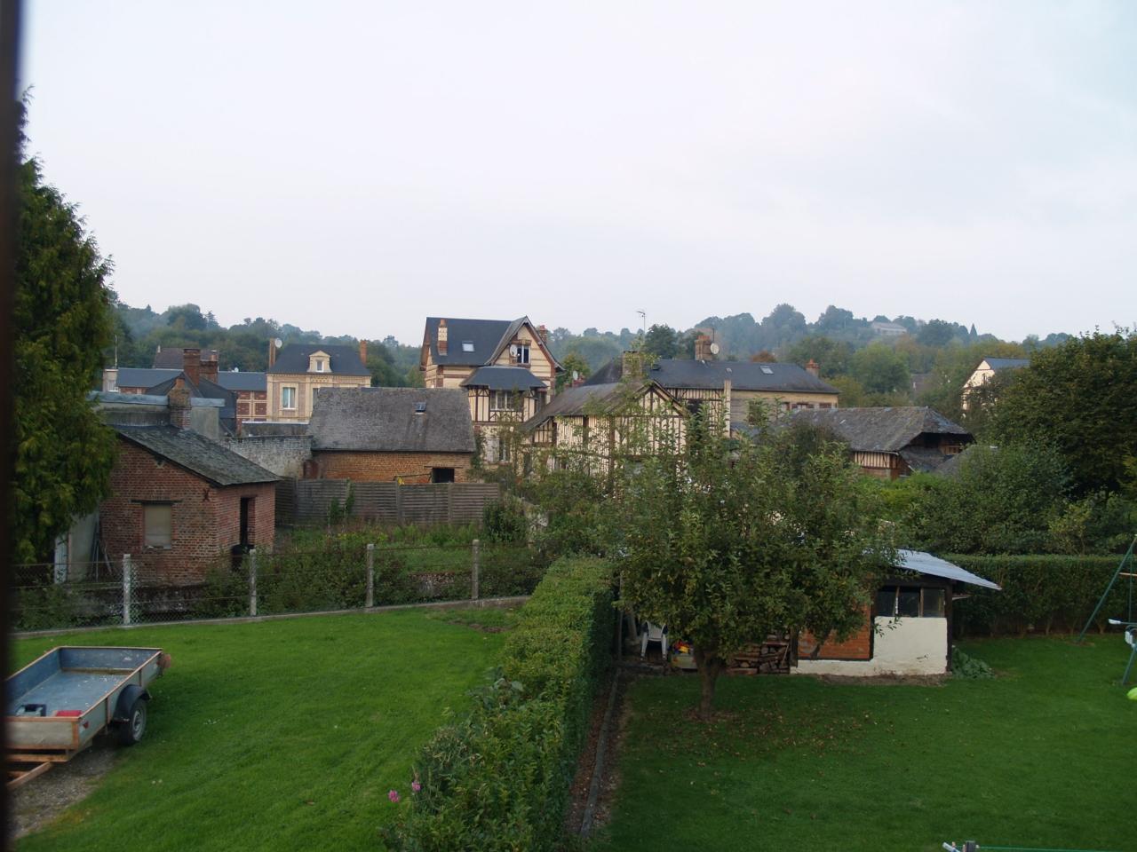 Lisieux ventes maison de village entre pont l 39 eveque et for Vente maison l
