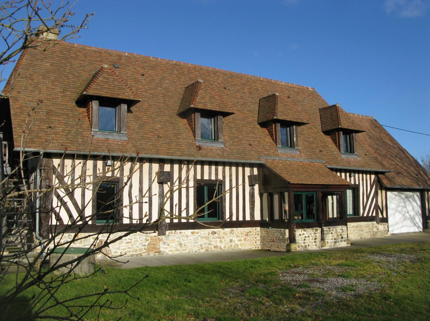 Lisieux ventes maison normande proche de lisieux calvados for Site vente de maison