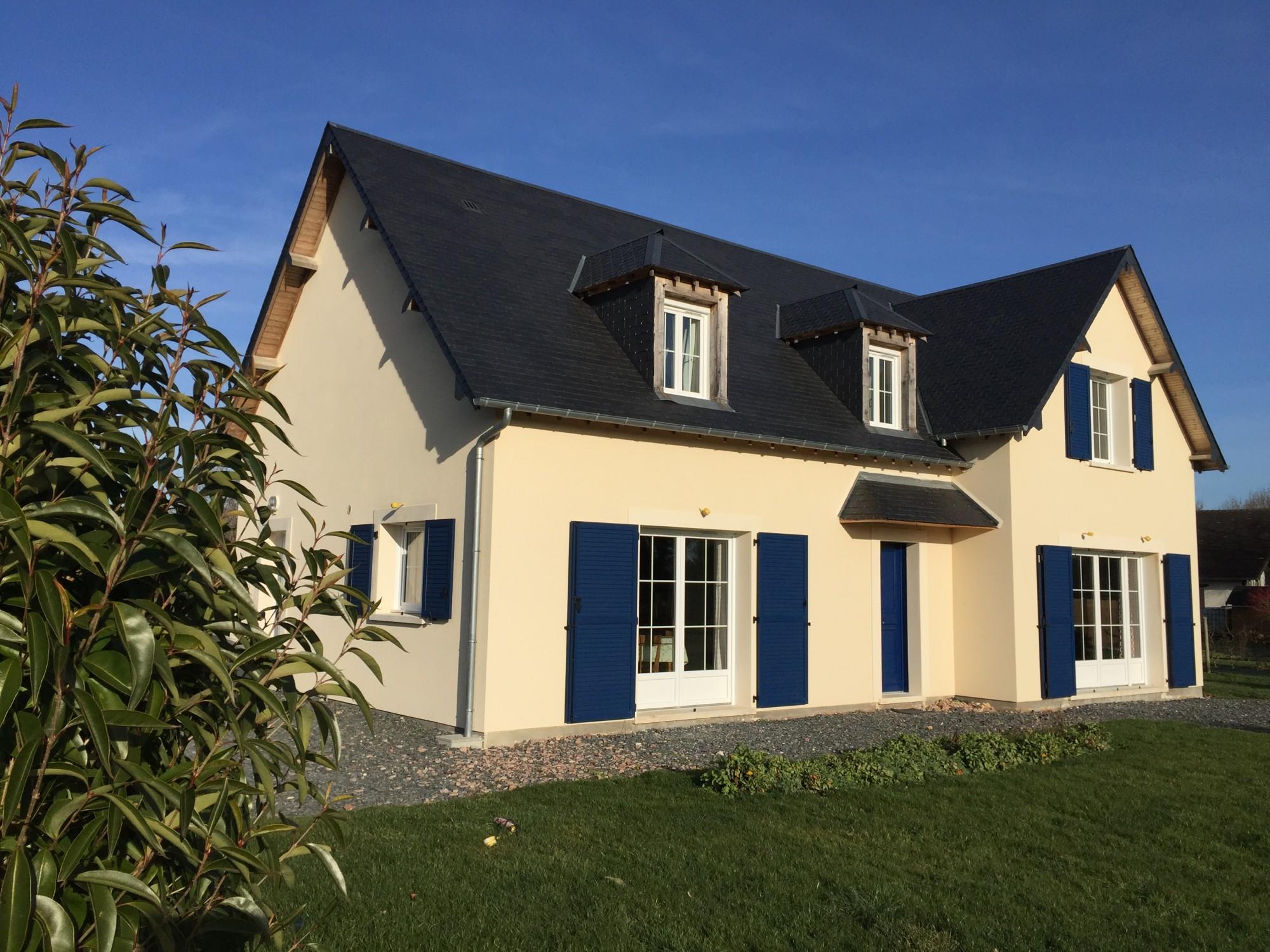 Maison contemporaine haute normandie maison moderne for Maison moderne normandie