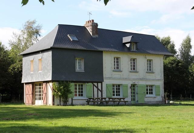 Nos biens a deauville honfleur et cabourg maison brique - Maison de campagne normandie ...